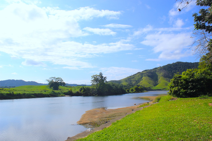 Daintree River in Nord Queensland