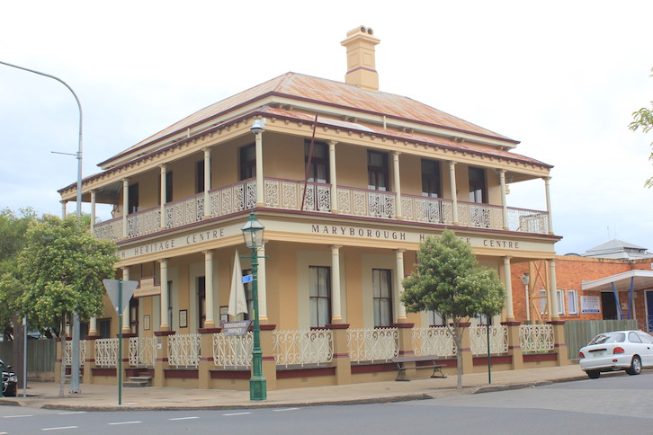 Günstig in Australien: historisches Maryborough