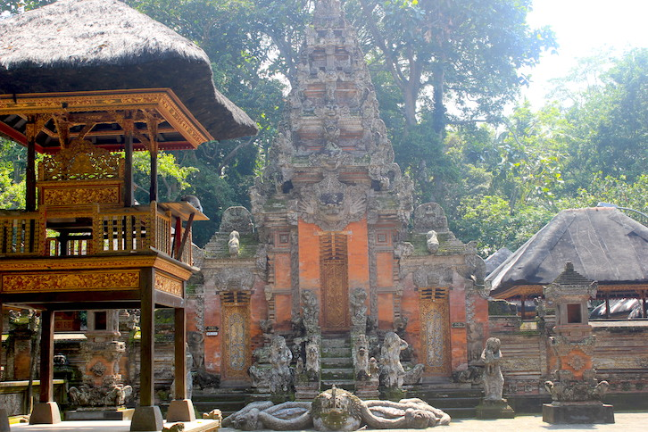 Tempel im Monkey Forest