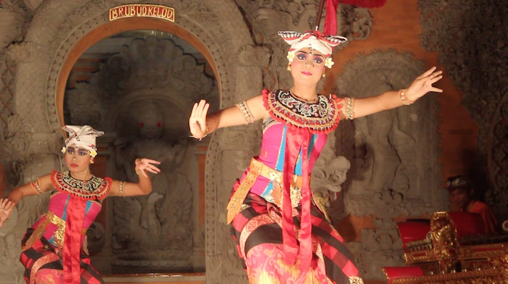 Topeng Dance in Ubud